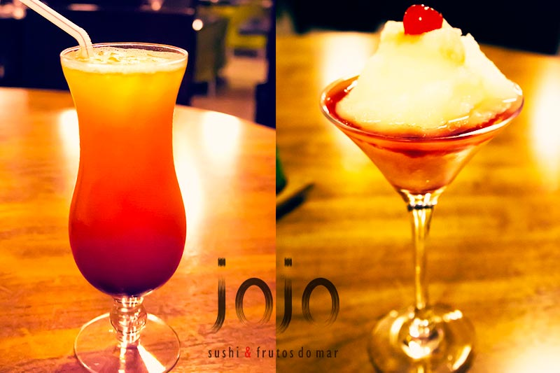 Drinks Especiais do JoJo